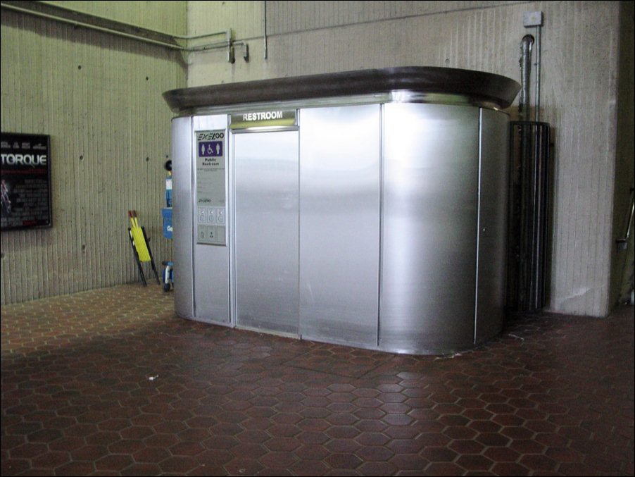 SelfCleaning Bathrooms Bizarre Technology - Self cleaning bathroom